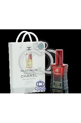 Chanel Egoiste Platinum в подарочной упаковке