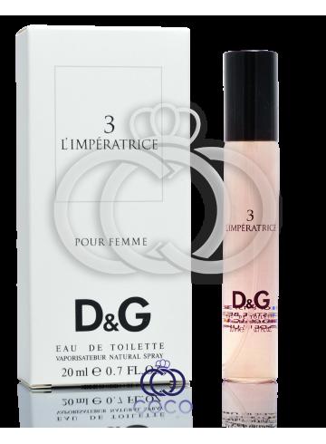 Туалетная вода (мини) Dolce&Gabbana Anthology L`Imperatrice 3  фото