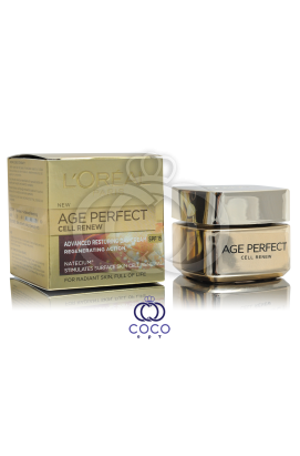 Дневной крем для лица Loreal Age Perfect Cell Renew
