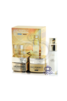 Набор кремов L'oreal Age Perfect Cell Renew 3в1