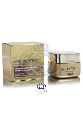 Ночной крем для лица L'Oreal Age Perfect Cell Renew