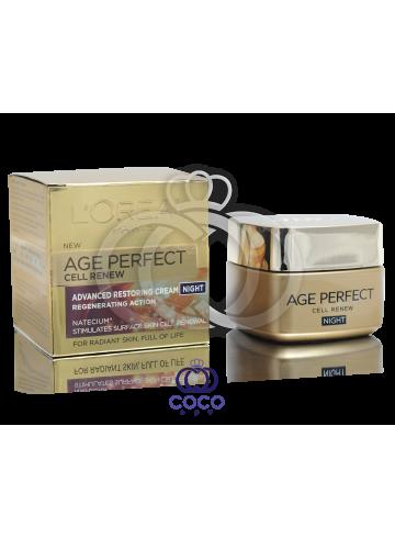 Ночной крем для лица L'Oreal Age Perfect Cell Renew фото
