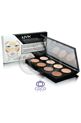 Палетка для контуринга лица Nyx Highlight & Contour Pro Palette