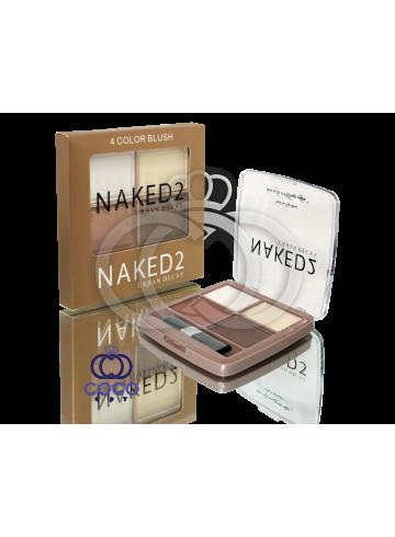 Сухой корректор Naked 2  в палитре 4 цвета фото