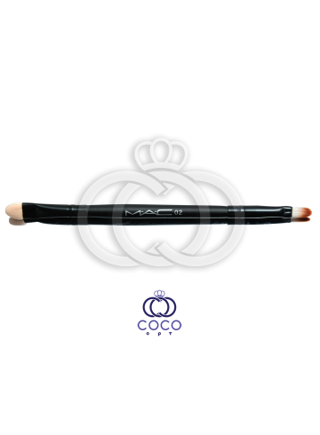 Двусторонняя кисть для макияжа Mac 02  фото
