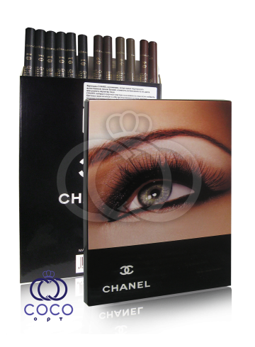 Карандаши для глаз и бровей Chanel 12шт фото