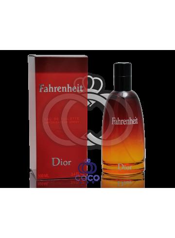 Туалетная вода Christian Dior Fahrenheit в мятой упаковке фото