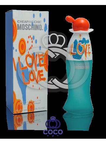 Туалетная вода Moschino I Love Love  фото
