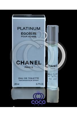 Туалетная вода (мини) Chanel Egoiste Platinum