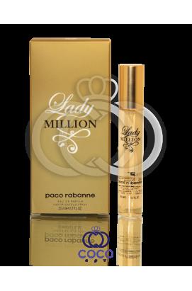 Парфюмированная вода (мини) Paco Rabanne Lady Million