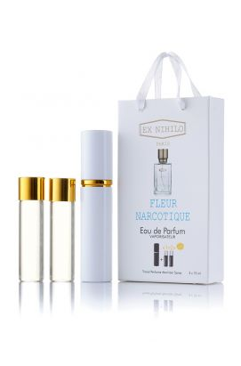 Мини-парфюм с феромонами  EX NIHILO Fleur Narcotique 3*15 Ml