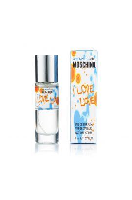Парфюмированная вода Moschino I Love Love 40 Ml