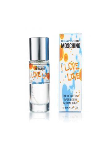 Парфюмированная вода Moschino I Love Love 40 Ml фото