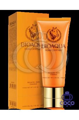Пенка для умывания Bioaqua Horse Oinment Miracle Skin Essence с лошадиным маслом