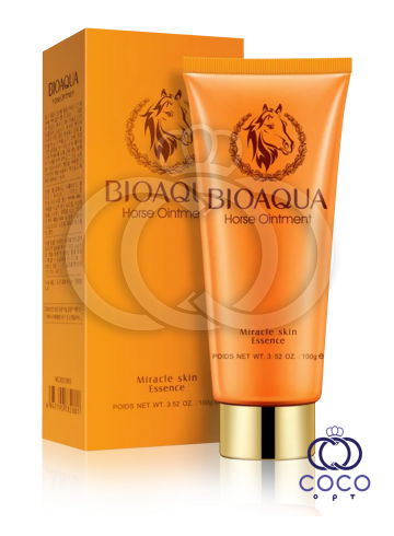 Пенка для умывания Bioaqua Horse Oinment Miracle Skin Essence с лошадиным маслом фото