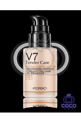 Основа под макияж Rorec V 7 Deep Hydration BB  с витаминным комплексом (01)