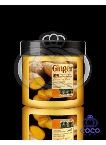Маска для волос Bioaqua Ginger Hair Mask с имбирем  фото