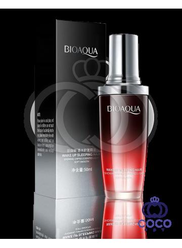 Масло для волос Bioaqua Wake Up Sleeping Hair с экстрактом красной розы 03 МЯТАЯ УПАКОВКА фото