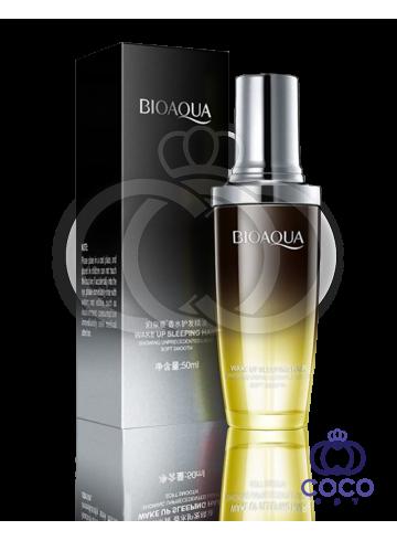 Масло для волос Bioaqua Wake Up Sleeping Hair с лимонным цветком 01 фото
