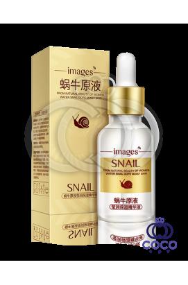 Сыворотка для лица Images Snail Essence с муцином улитки и гиалуроновой кислотой