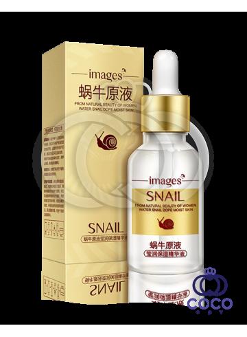 Сыворотка для лица Images Snail Essence с муцином улитки и гиалуроновой кислотой фото