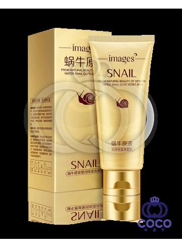 Пенка для умывания Images Snail Cleanser с экстрактом улитки и гиалуроновой кислотой фото