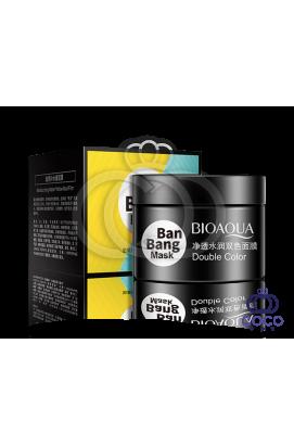 Маска для лица Bioaqua Ban Bang двойная очищающая и питательная