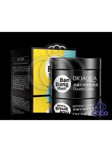 Маска для лица Bioaqua Ban Bang двойная очищающая и питательная фото