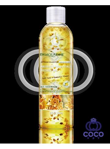 Гель для душа Bioaqua Plant Extracts Osmantus с золотым османтусом фото