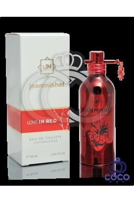 Туалетная вода Jeanmishel Love In Red
