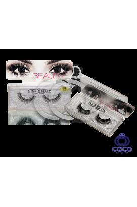 Ресницы Huda Beauty 3D клеевые (№ 05)