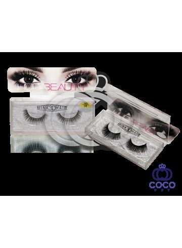 Ресницы Huda Beauty 3D клеевые (№ 05) фото