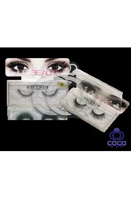 Ресницы Huda Beauty 3D клеевые (№ 06)