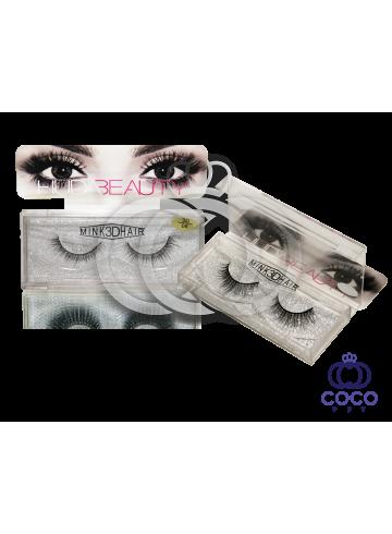 Ресницы Huda Beauty 3D клеевые (№ 06) фото