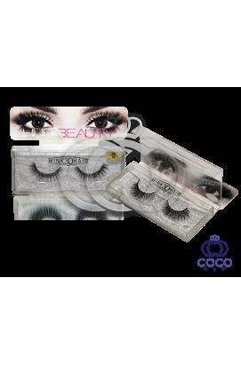 Ресницы Huda Beauty 3D клеевые (№ 10)