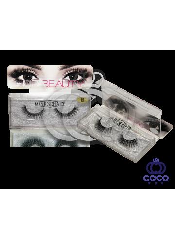 Ресницы Huda Beauty 3D клеевые (№ 10) фото