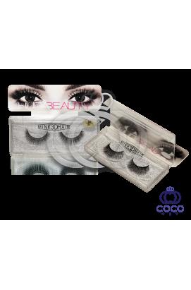 Ресницы Huda Beauty 3D клеевые  (№ 21)