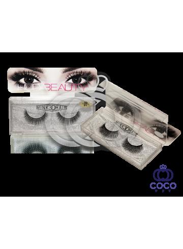 Ресницы Huda Beauty 3D клеевые  (№ 21) фото