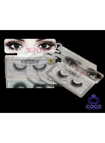 Ресницы Huda Beauty 3D клеевые  (№ 29) фото