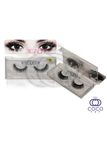 Ресницы Huda Beauty 3D клеевые   (№ 30) фото