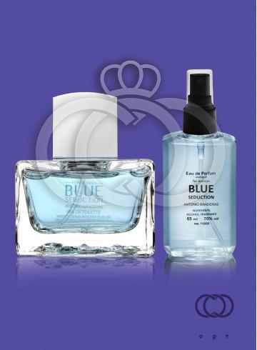 Парфюмированная вода Antonio Banderas Blue Seduction For Woman 65 Ml фото