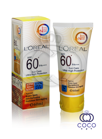 Солнцезащитный крем L`oreal Sun Care Ultra High Protection SPF 60+ фото