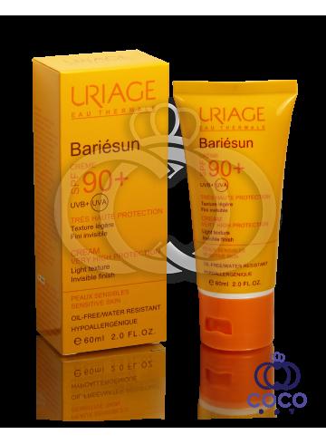 Солнцезащитный крем Uriage Eau Thermale Bariésun SPF 90+  фото