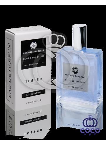 Парфюмированная вода Antonio Banderas Blue Seduction For Men TESTER 100 Ml фото
