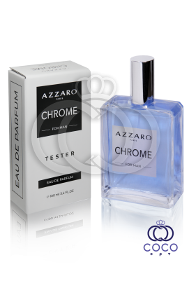 Парфюмированная вода Azzaro Chrome TESTER 100 Ml