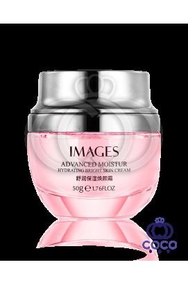 Крем для лица Images Advanced Moistur Hydrating Bright Skin Cream с экстрактом дамасской розы
