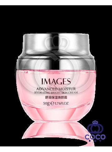 Крем для лица Images Advanced Moistur Hydrating Bright Skin Cream с экстрактом дамасской розы фото