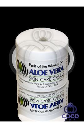Крем для лица Wokali Aloe Vera Skin Care Cream 115 g