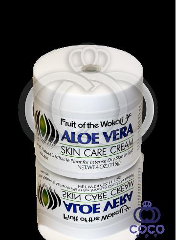 Крем для лица Wokali Aloe Vera Skin Care Cream 115 g фото