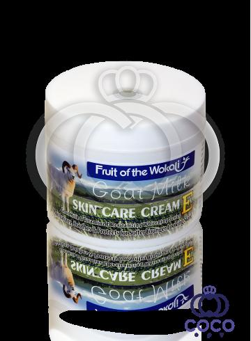 Крем для лица Wokali Goat Milk Skin Care Cream 115 g фото